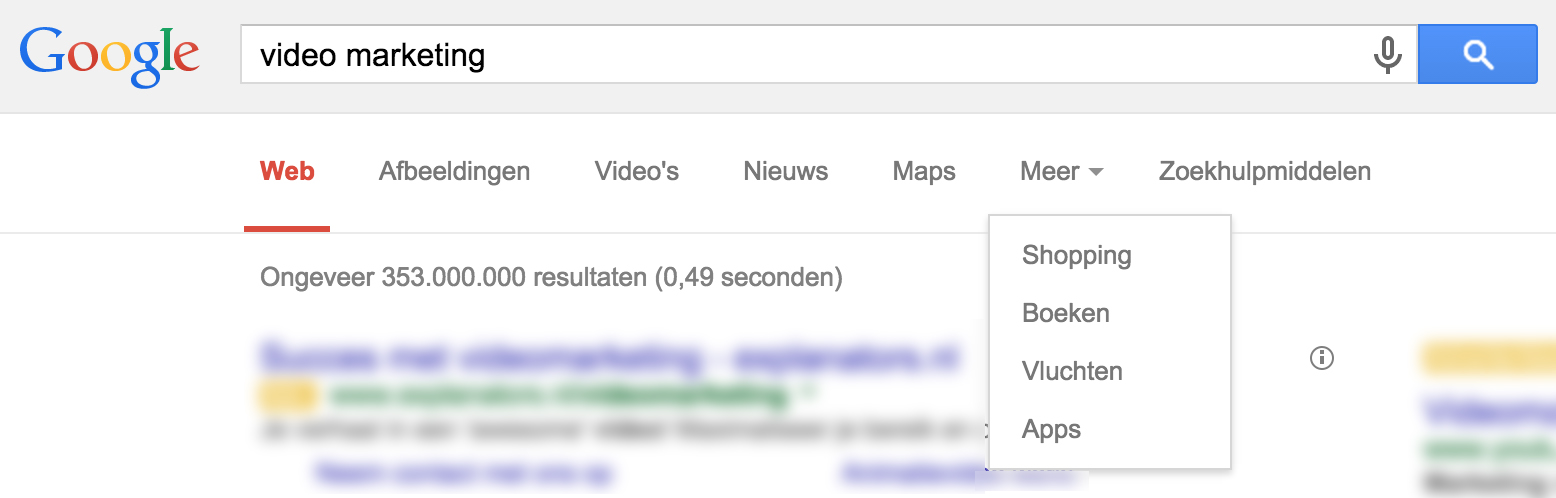 Video SEO en de groei van Universal Search